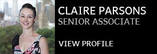 Claire Parsons Contact Details